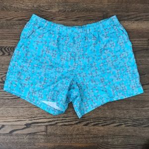 Columbia Geometric Print Shorts
